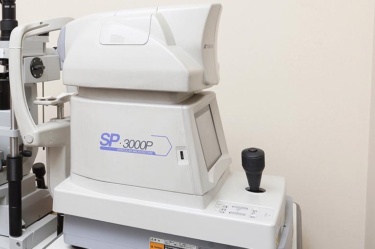 超音波画像診断装置(スペキュラーマイクロスコープ)